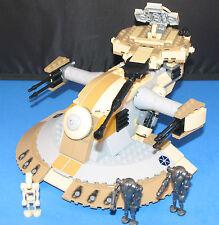 LEGO® Brick STAR WARS™ Tan AAT CLONE WARS™ TANK Custom set 8018 + 4 Minifigures