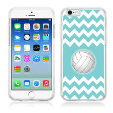 Flexible TPU Phone Case for Apple iPhone 6 / 6s - Chevron/Volleyball