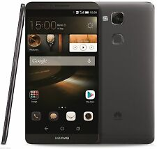 UNLOCKED HUAWEI ASCEND MATE 7 LTE SINGLE SIM 16GB BLACK OCTA CORE 1.8GHZ 1.3GHZ