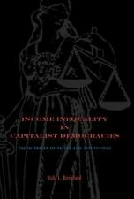 Income Inequality in Capitalist Democracies: The Interplay of Values a-ExLibrary