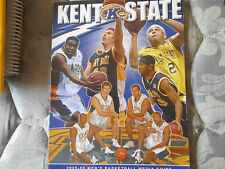 2005-06 KENT STATE BASKETBALL MEDIA GUIDE Yearbook NCAA TOURNAMENT TEAM! 2006 AD