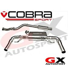 RN08 Cobra Sport Renault Clio RS 200 2.0 16V 09-12 Cat Back Exhaust Resonated