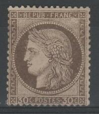 """FRANCE STAMP TIMBRE YVERT 56a """" CERES 30c  BRUN FONCE """" NEUF (x) TB A VOIR M851"""