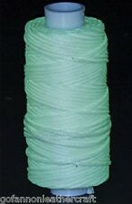 Waxed Braided Cord 25 yds. (22.9 m) Glow in the dark (11210-40)