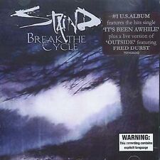 Break the Cycle by Staind (CD,2001, Elektra (Label))