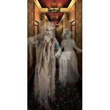 Ghostly Spirits in Hallway Wall Poster Haunted House Halloween Ghost Decor