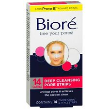 Biore Deep Cleansing Pore Strips Combo Pack, Combo 14 ea