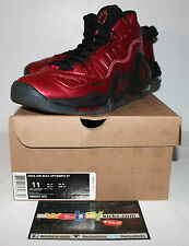 Nike Air Max Uptempo 97 Varsity Red Black Sneakers Men's Size 11 Used