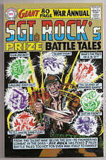 SGT Rock's Prize Battle Tales NM+ REPLICA 80 Page Giant War Annual DC Comic Book