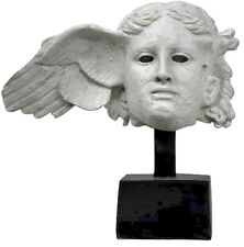 Hypnos Greek Roman God of Sleep Head Bust Museum Sculpture Replica Reproduction