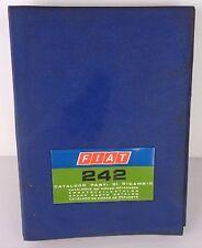 fiat 242 catalogo parti di ricambio prima edizione 1974