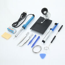 14in1 Electric 110V 30W Rework Solder Soldering Iron Tools Kit w/ Desolder