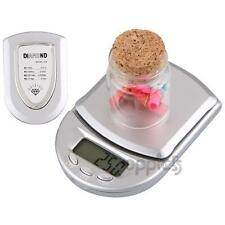 LCD Mini Electronic Digital Balance Weight Weighing Scale 500-0.1g