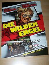 DIE WILDEN ENGEL - Kinoplakat A1 WA 70er  PETER FONDA Nancy Sinatra ROGER CORMAN