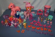 My Little Pony Toys Lot MLP 51 pcs Acc Hasbro Figure Toy Variety