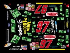 #97 KURT BUSCH Win a Million 2002 1/25th - 1/24th Scale Waterslide Decals