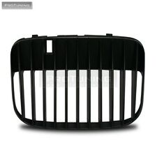 SEAT LEON TOLEDO 1M2 99-06 BLACK SPORT BADGELESS FRONT GRILL GRILLE DEBADGED RS