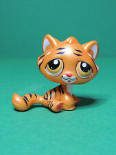 #1487 Tigre nacré Pearly Tiger striped orange cat LPS Littlest Pet Shop Figurine