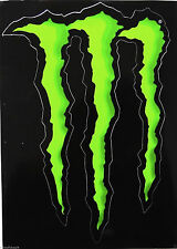 Monster Energy Sticker ORIGINAL Kawasaki MX Scate Bmx Bike supermoto decal 10 cm