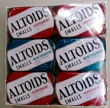 Altoids Curiously Smalls Sugar Free Peppermint & Wintergreen 12 Tins 600 Mints