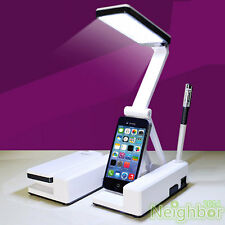LED Rechargeable Table Lamp Rotatable Foldable Portable Desk Lamp Reading light