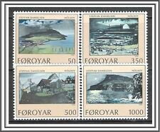 Faroe Islands #212-215 Landscape Paintings MNH