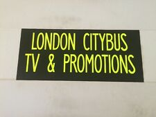 "Capital City Bus Blind 27""- London Citybus TV & Promotions"