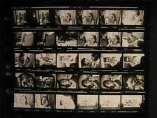 1965 Europe Fashion VINTAGE CONTACT SHEET By Milton Greene 704M