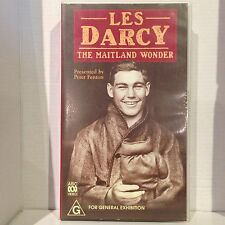 LES DARCY ~ THE MAITLAND WONDER ~ BOXING ~ RARE VHS VIDEO