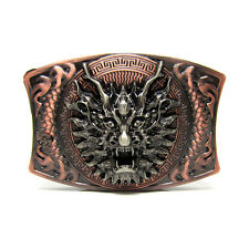 3D Domineering Dragon Head  Belt Buckle Personalized Classic Animal