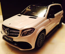 GT Spirit Mercedes Benz GLS 63 AMG X166 White Dealer LE of 1967 1/18 In Stock!