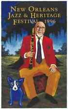 1996 Pete Fountain New Orleans Jazz Fest Poster Numbered By George Rodrigue