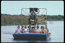 311072 Jet Boat Tour Alligator Alley A4 Photo Print