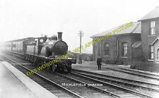 Micklefield Railway Station Photo. Garforth to Church Fenton and South Milford