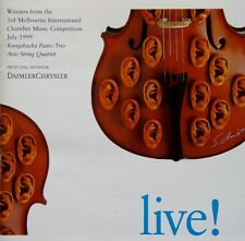 LIVE! - WINNERS 3RD MELBOURNE INTERNATIONAL CHAMBER MUSIC COMPETITION 1999 CD