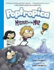 Poptropica Graphic Novels: Mystery of the Map 1 by Jack Chabert (2016,...