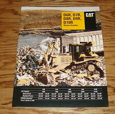 1997 Caterpillar D6R D7R D8R D9R D10R Waste Handler Sales Brochure 97 Cat