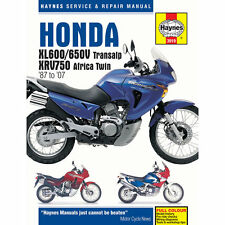 Honda XL600/650V Transalp XRV750 Africa Twin 1987-2007 Haynes Workshop Manual
