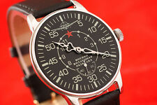 Aerial reconnaissance Vintage Russian USSR military style OLD stock wrist watch