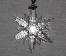 SWAROVSKI CRYSTAL 2006  ANNUAL SNOWFLAKE CHRISTMAS ORNAMENT NEW IN BOX
