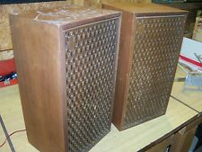 "Vintage Fisher Model 102 Bookshelf Speakers - 21"" - Project"