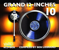 Ben Liebrand - Grand 12-inches vol. 10 6-cd box (4cd + 2 Bonus discs) New 2013