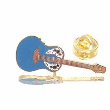 Vintage Miniature Ovation Adam Guitar Pin Music Gifts Jewelry Gold Plated