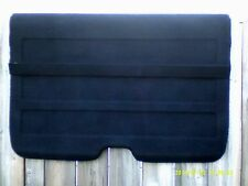 1988-1991 Honda CRX SI Rear Cargo Cover Black  MEGA CLEAN STRAIGHT