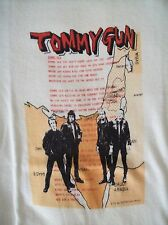 THE CLASH VINTAGE CONCERT TOUR T-SHIRT 1970'S SEX PISTOLS THE DAMNED
