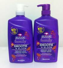 Aussie Family Smooth N Bloom Smoothing Shampoo and Conditioner 29.2 fl oz Each