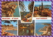 Carte Postale - BEAULIEU . ST JEAN - CAP FERRAT