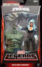MARVEL LEGENDS SPIDER-MAN infinita serie BLACK CAT SKYLINE SIRENE ACTION FIGURE