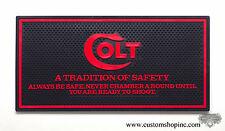 Colt Counter Mat Python Black & Red