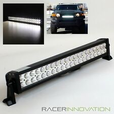 "21.5"" 120W Extreme Bright Off Road Spot+Flood 40 LED Light Bar Roof Rack/Bumper"